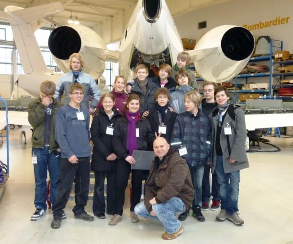 Leistungs- und Begabungsklasse bei Bombardier