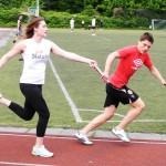 Gymnasium Panketal Sportfest 2013 Staffellauf