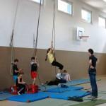 Anseilen, Klettern, Sichern - erste Übungen