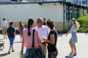 Gymnasium Panketal - Eltern und Lehrer im Gespräch