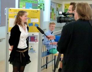 U18 - Wahltag - mit TV und Presse