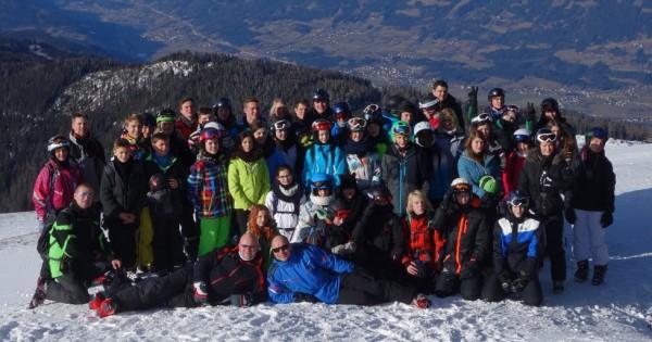 Skifahrtteilnehmer 2015