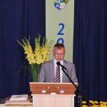 Rede des Schulleiters, aber wer ist Erasmus?