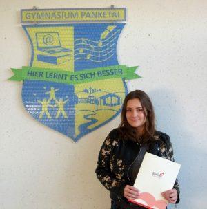 freut sich über das Barnim-Stipendium