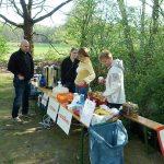 Essen und Trinken - dank fleißger Unterstützer