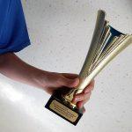 Pokal vom 12. Eberswalder Stadtlauf