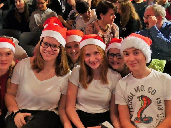 Alle(s) weihnachtlich geschmückt :-)