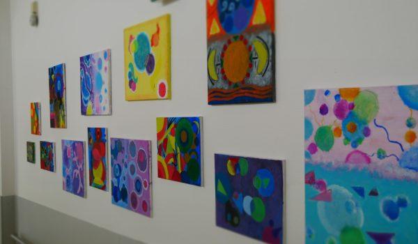 Kunst in der Pausenhalle